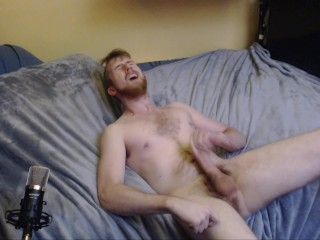 JERKS OFF AND CUMS ON HIS BED HORNY COLLEGE BOY CAM MODEL FREAKYKNIGHT