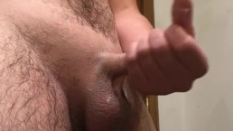 Did his dick just triple??? Hot cumshot