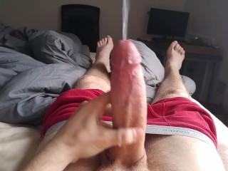 Soft-to-hard followed by a massive cumshot