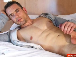 Full video: Straight military guy serviced in gay porn in spite of him.