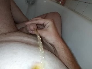 Pissing on my chest