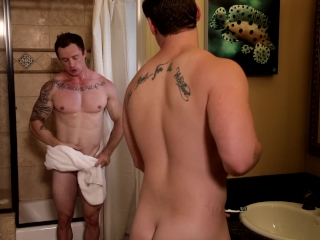 First Time Bareback Dick Practice 4 Straight Roommate B4 Orgy!