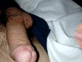 Horny Young Cock & Balls Stroke