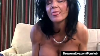 Texas Cougar Deauxma Is Anal Banged By A Fan!