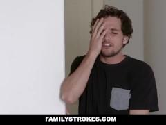 FamilyStrokes - Curvy Stepmom