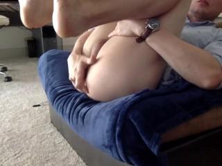 Nikita mirzani - Guy fucks his ass with dildo, fists and cums