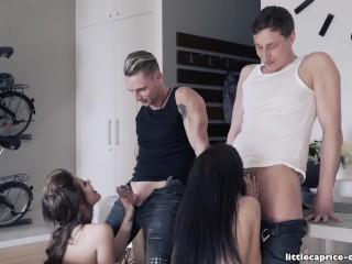 LITTLECAPRICE Gruppen Sex Party Rockabilly Style -