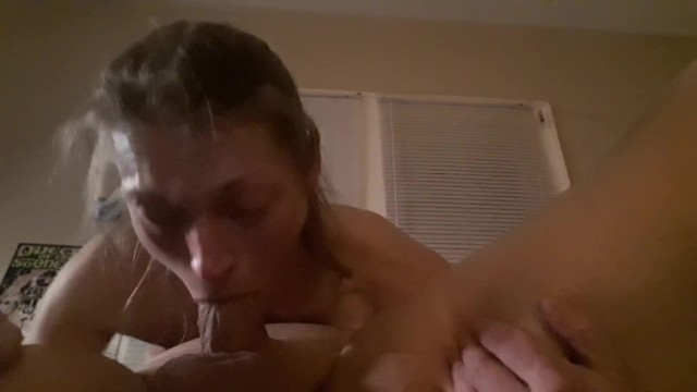 Hottie Begs To Be Fucked While Swallowing Big Cock And Cumming 20