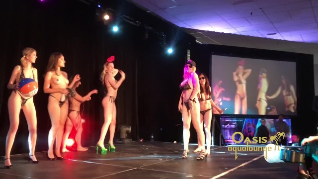 Aqua babes nude Taboo convetion fashion show