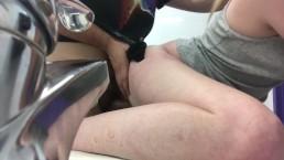 Public restroom party city fuck