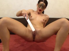 self punishment pt3, 500+ spanks, slaps, whip, ruler, paddle PAIN then cum
