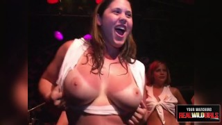 Spring sluttiest contest  break babe pierced