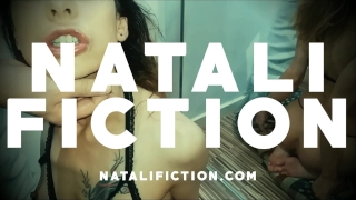 He fucks my Ass by surprise and cums on me - Natali Fiction