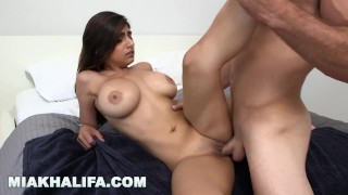 MIA KHALIFA - Sean Lawless Gets His Dick Sucked In The Shower