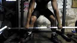 Deadlifts from the front