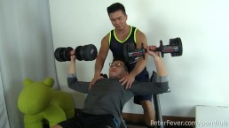 "Asian Stud Alex Chu Gives Dylan's Ass a Workout in ""Alex's Erotic Sessions"""