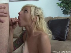 Teen Teases Cock And Blows