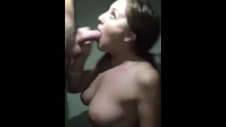 Real stepsister sucks my cock untill I cum  big natural tits cum on tits big white cock big load homemade oral jessica rose sexy amateur hardcore hottie step brother mia khalifa step sister