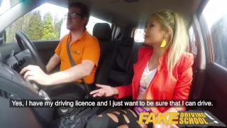 School busty lesson tight after fucked polish blonde pussy fake driving mom joanna