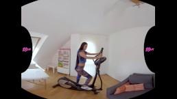 18VR.com Best Cardio Training With Latina Hottie Andreina De Luxe