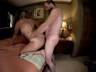 Fixed sideview multiple orgasms with anal creampie...