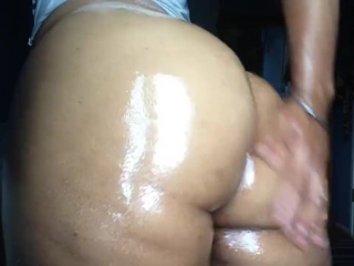 FemBoy w/ a Real Fat Ass Makes His Oiled Ass Clap