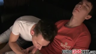 Two with of breeding fuck his young twink buddies euro bareback twunk