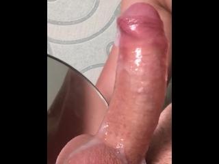 Suck my dick till oral creampie / SELFSUCK