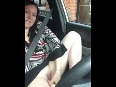 Drive thru dildo
