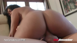 Ebony Harley Dean Wants Her Brother's Big Cock The cum