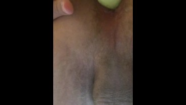 Fucking my self with a dildo