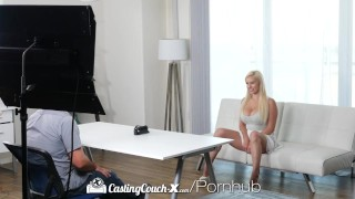 CASTINGCOUCH-X Thick busty blonde fucks casting agent