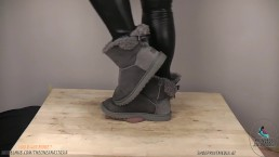 Uggs cock crush under full weight (Preview)