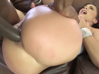 Big Booty MILf Liza Del Sierra Takes Hardcore Anal Pounding From BBC