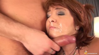 redhead chubby matures first big cock sex