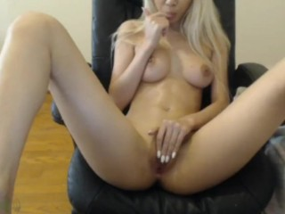 Teen asian blonde masturbating