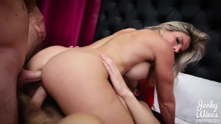 Cory Chase in StepMom fucks her Two Sons Butt booty