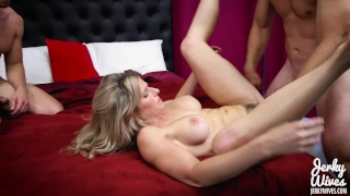 Cory Chase in StepMom fucks her Two Sons Japanese tails