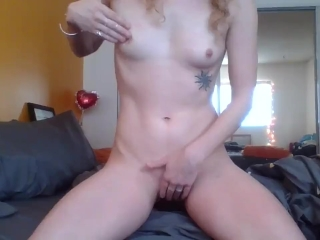 Hot Petite Blonde Teases and Denies Her Pretty Pink Pussy and Fit Body!