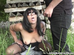 Brand new pee fun escapades with slutwife Marion