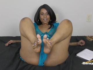 Horny Lily Foot Job Tamil