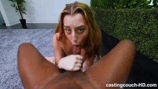 Her inseminated by black georgia first guy innocent peach castingcouch interracial