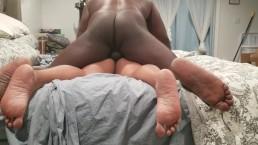 Hubby riding my ass