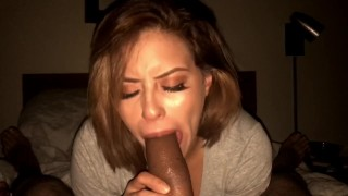Latina babe and sloppy blowjob compilation Big dad