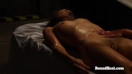 Betrayed Cargo: Slave Spanking During Pussy Licking