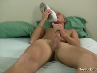 Sexy Hottie James Kline Cock Stroking