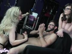 Jay and Nina Play with Logan