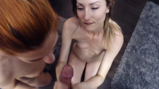 Cock sexy with best husbands cum redhead my friend and sharing 3some amateur