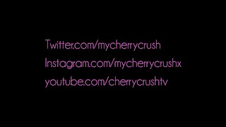 Cherry Crush gives messy deep throat blowjob , booty shaking & cumshot  ass suck booty sexy masturbate cum young girlfriend pawg butt petite cherry cute teenager adult toys cherrycrush
