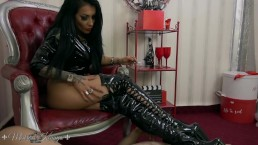 Mistress Kennya: It's all about my boots